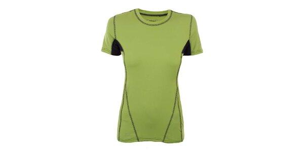 Dámské zelené funkční tričko Hannah