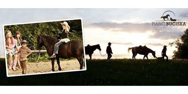 30minutová jízda na koni na Ranči Bučiska