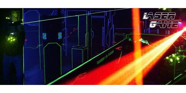 Napínavá Laser Game až pro 14 osob