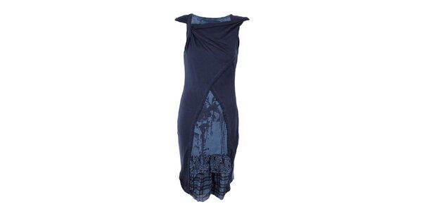 Dámské dlouhé modré šaty Angels Never Die