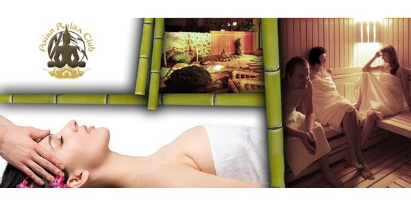 640 Kč pravou Filipínskou masáž a hodinu ve Vario sauně.