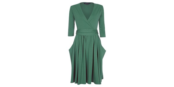 Dámské zelené šaty Hot Squash