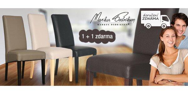 1+1 zdarma! Židle Evelin od Markus Pedriksen