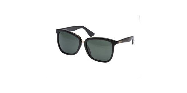 Dámské černé sluneční brýle Lancaster
