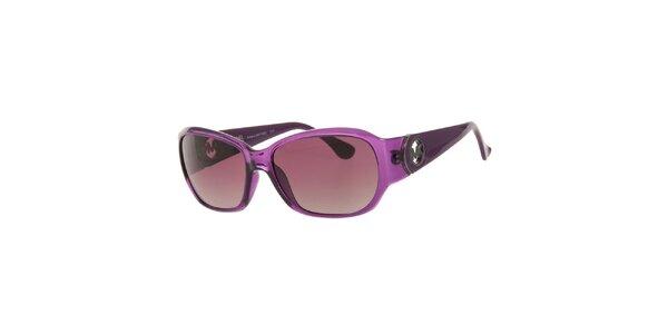 Dámské fialové sluneční brýle Michael Kors s fialovými sklíčky