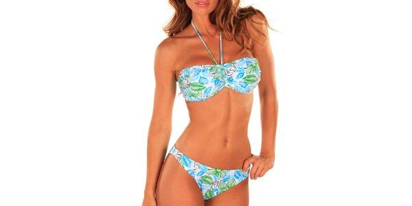 Dámské vícebarevné plavky se vzorem Bikiniki