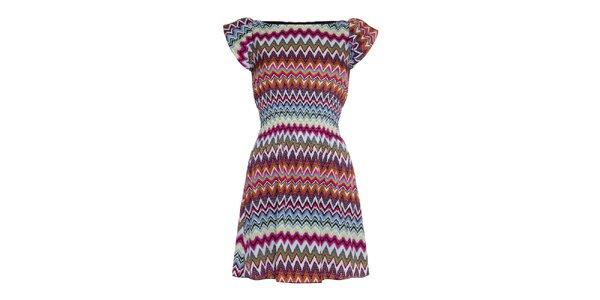 Dámské šaty s divokým vzorem Iska