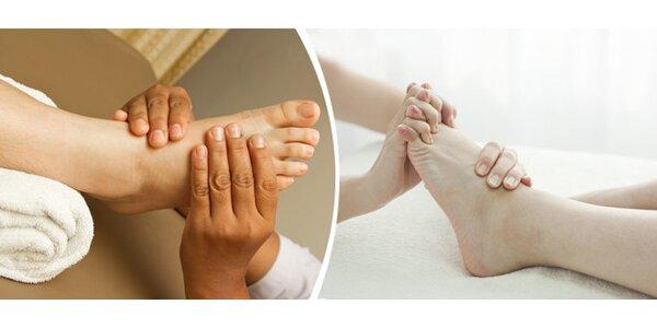 Metamorfní technika - jemná masáž nártu