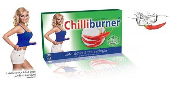 Chilliburner - přírodní podpora hubnutí
