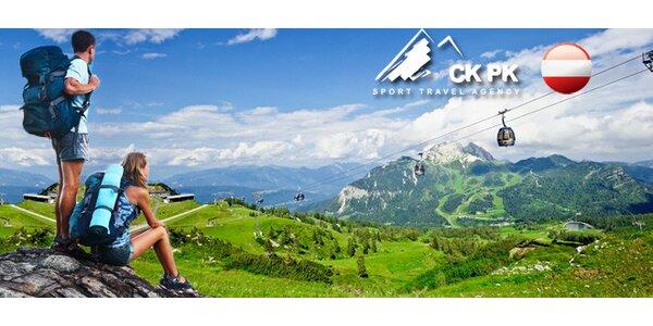 5 dní v rakouských Alpách pro celou partu či rodinu