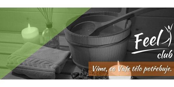 Finská sauna + parní lázeň s aromaterapií