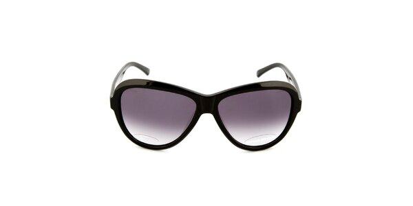 Dámské černé sluneční brýle s černými sklíčky Sonia Rykiel