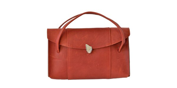Dámská červenooranžová kabelka Bellemarie