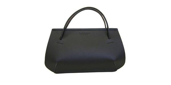 Dámská černá kožená kabelka Bellemarie