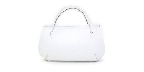 Dámská bílá kožená kabelka Bellemarie