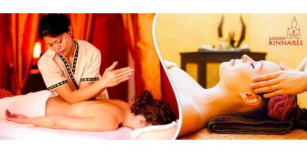 Pravá thajská masáž - výběr z mnoha druhů