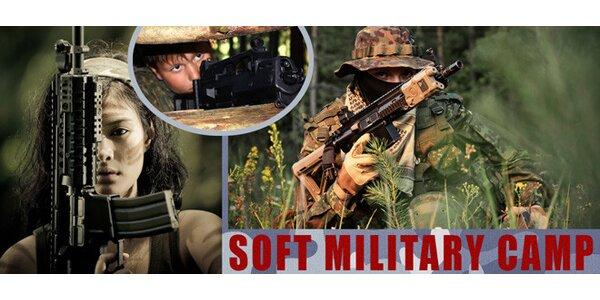 Soft military camp pro děti 10 až 17 let