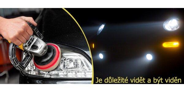 Renovace plastových světlometů vašeho automobilu