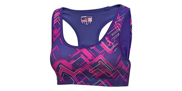 Dámská fialová sportovní podprsenka Puma