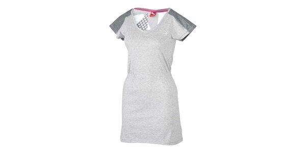 Dámské šedé sportovní šaty Pma