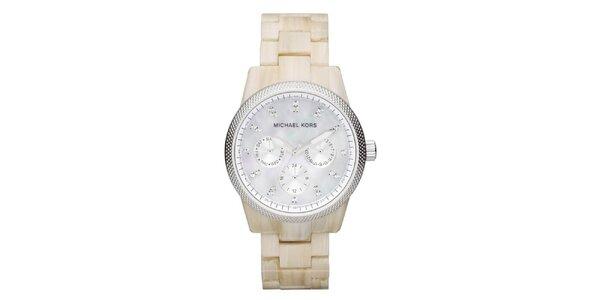 Dámské hodinky s perleťovým ciferníkem Michael Kors