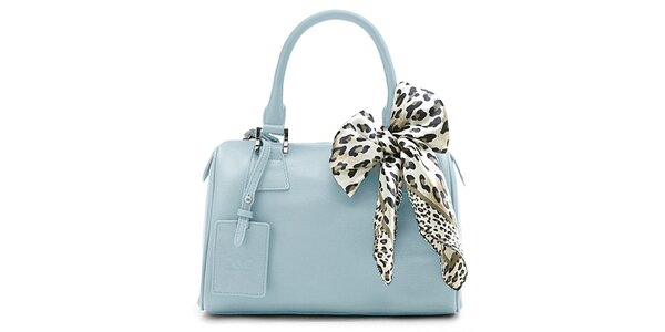 Světle modrá kufřiková kabelka Belle&Bloom