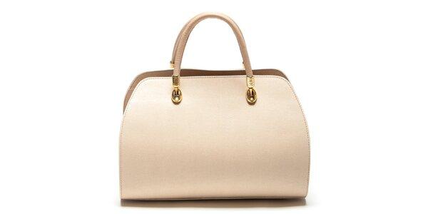 Dámská béžová kufříková kabelka Mangotti