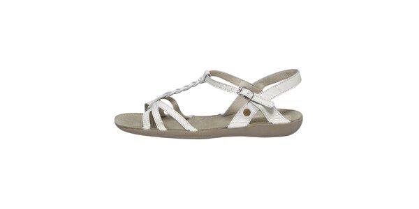 Dámské bílé sandálky Buggy