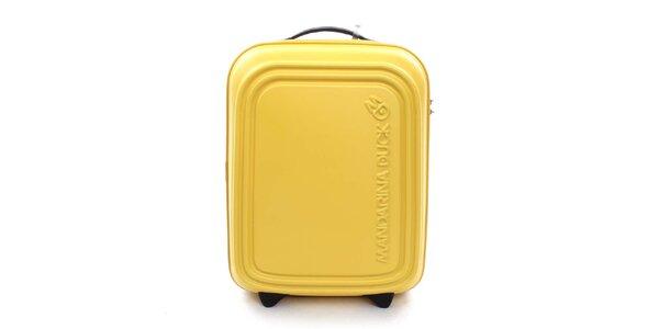 Žlutý cestovní kufr s TSA zámkem Mandarina Duck