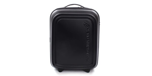 Černý cestovní kufr s TSA zámkem Mandarina Duck