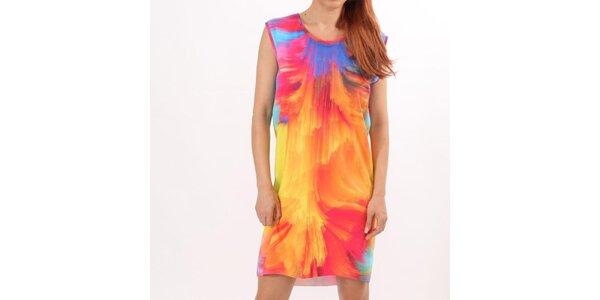 Dámské pestrobarevné šaty bez rukávů Santa Barbara