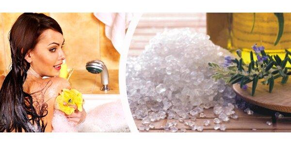 1 kg koupelové soli s konopím