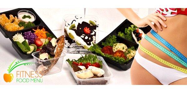 Netradiční krabičková dieta s Fitness food menu na 5 dní s dopravou zdarma