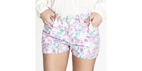 Dámské barevně květované krátké šortky Tantra