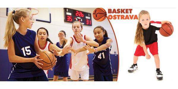 Ostravská basketparáda pro dívky