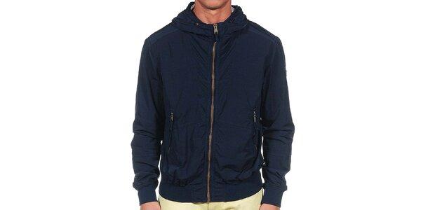 Pánská tmavě modrá bunda Calvin Klein