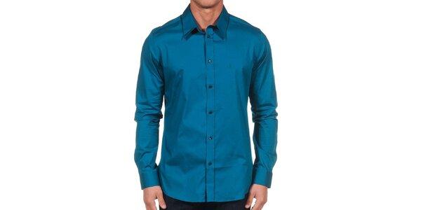 Pánská tmavě modrá košile Calvin Klein