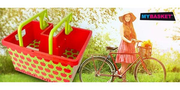 Praktický košík MyBasket na kolo i nákupy