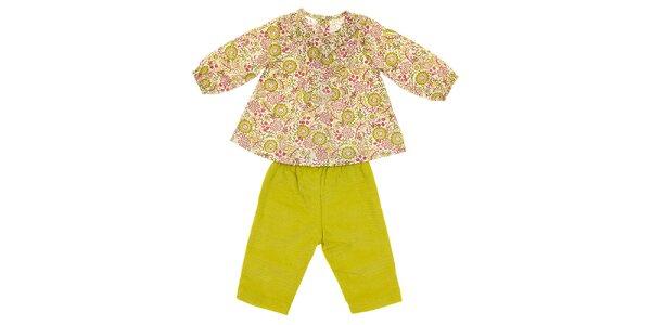 Kojenecká souprava Lullaby - košilka a kalhoty