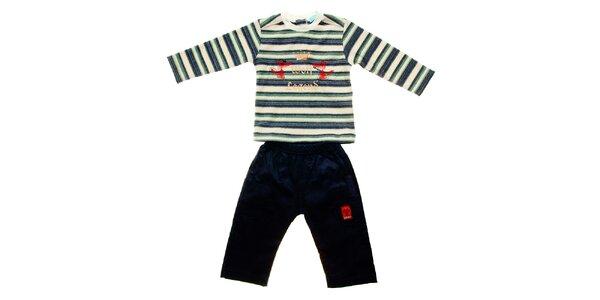 Dětská souprava Lullaby - manšestráky a tričko
