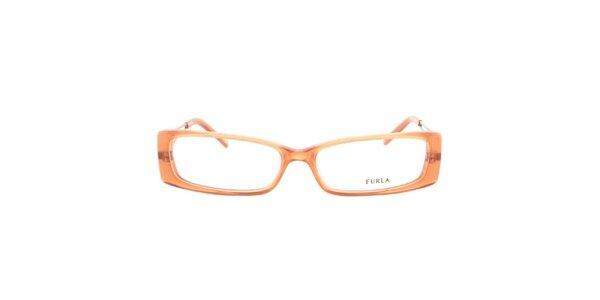 Dámské korálově oranžové obroučky Furla