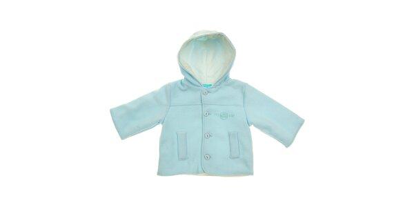 Světle modrý kojenecký kabátek Lullaby