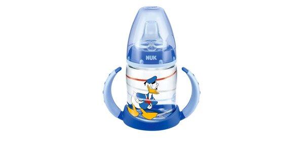 NUK FC lahvička na učení PP DISNEY-Donald 150ml,SI pítko