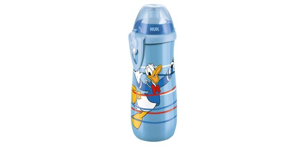NUK FC Láhev PP Sports Cup,DISNEY-Donald 450ml,SI push-pull pítko