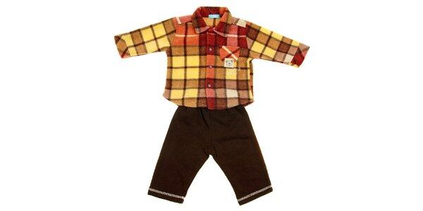 Dětská souprava Lullaby - košile a tepláky