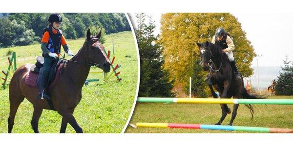 Týdenní intenzivní jezdecký kurs na koňské farmě