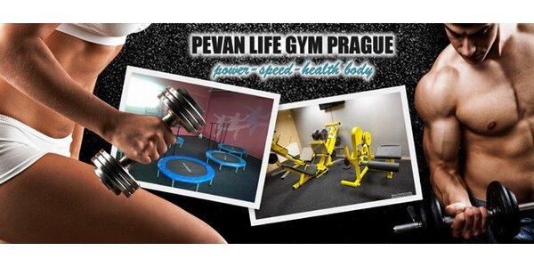 10 vstupů do fitness PeVan Life Gym (jumping a další)