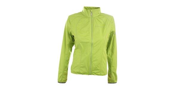 Dámská jasně zelená softshellová bunda Trimm
