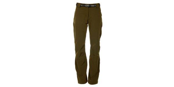 Dámské khaki outdoorové kalhoty Trimm