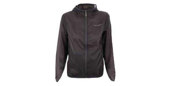 Dámská tmavě šedá bunda s kapucí Trimm